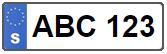 Sök fälgar och hjulsatser på registreringsnummer